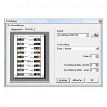 actus print, Software zur indi- viduellen Aktenbeschriftung.