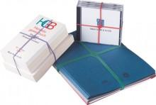 Kreuzbänder 100x11mm, 100g, gemischt. Zum Verpacken und Verschnüren von