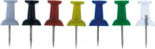 Pinwandnadel farbig sortiert 100 Stk.