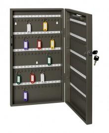 Schlüsselschrank Stahlblech eckig für 105 Schlüssel, anthrazit