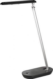 Tischleuchte LED, schwarz/silbergrau Energieklasse A, 4,5 W, neutralweiß,