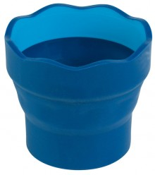 Faber Castell Wasserbecher Clic&Go, blau # 181510