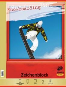 Zeichenblock, A3, 20 Blatt, 100g, Linea, feiner holzfreier Zeichen-