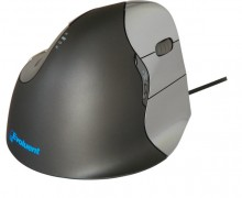 Die ergonomische Maus Evoluent4 für Rechtshänder, schnell und präzise, anthrazit