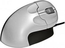 ergonomische vertikale Maus für Rechtshänder, 2 Tasten u. Scrollrad, kabelgebunden