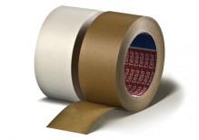 Tesapack Papier, 50m x 50mm, weiß selbstklebend, lösungsmittelfrei,