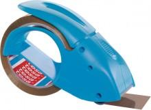 tesapack Handabroller packngo, blau, inkl. 1 Rolle tesapack braun