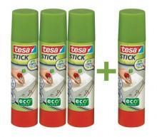 Tesa Stick Promotion Set mit 3 x Tesa Stick ecoLogo 20g