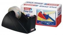 Tischabroller Easy Cut für Klebfilm, 19mm x 33m, schwarz