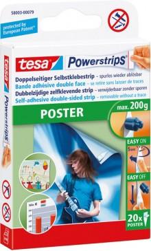Selbstklebestrips für bis zu 200g, für Poster