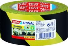 Signal Markierungsklebeband Universal gelb/schwarz PP 66m:50mm