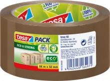 Packband tesapack Eco & Strong 50mm x 66m, braun