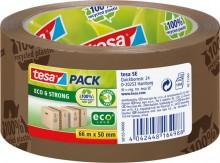 Packband tesapack Eco & Strong 50mm x 66m, braun, bedruckt