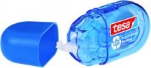 Korrekturroller ecoLogo mini, blau, Einweg, mit Schutzkappe, reißfestes