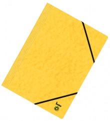 Dreiflügelmappe, A4, 390g/qm, gelb