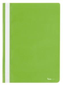 Schnellhefter A4, dokumentenecht, PP, grün, transparenter Deckel