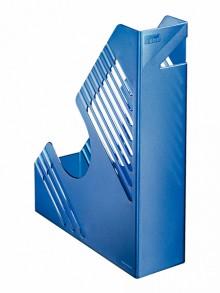 Zeitschriftenbox, blau metallic, für ca. 700 Blatt, A4 und A4