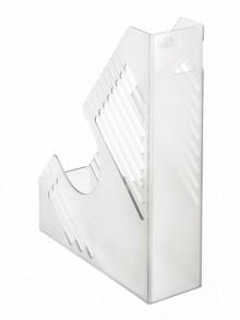 Zeitschriftenbox, klar, für ca. 700 Blatt, A4 und A4 Überformat,