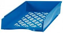 Briefkorb A4-C4, blau Außenmaß: B255 x T65 x H370,
