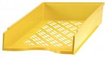 Briefkorb A4-C4, gelb, Außenmaß: B255 x T65 x H370,