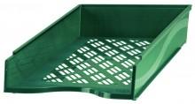 Briefkorb A4-C4, grün, Außenmaß: B255 x T65 x H370,