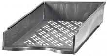 Briefkorb A4-C4, silber metallic, Außenmaß: B255 x T65 x H370,