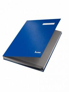 Bene Unterschriftsbuch in blau
