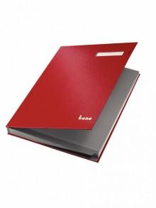 Bene Unterschriftsbuch in rot