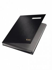 Bene Unterschriftsbuch in schwarz