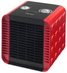 Keramischer Heizlüfter, 1500W, rot stufenlos regelbarer Thermostat,