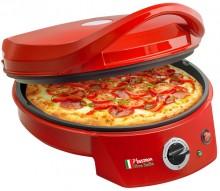Pizzaofen mit Pizza