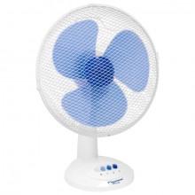 Tischventilator Durchmesser 35cm weiß, 40 Watt, 3 Geschwindigkeiten,