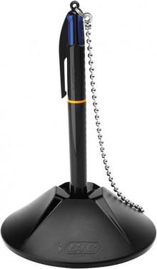 BIC Druckkugelschreiber mit Kugelschreiberständer in schwarz