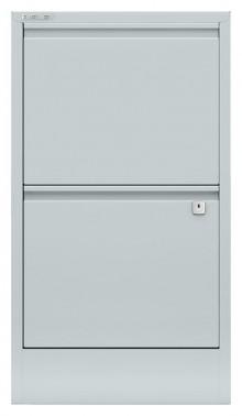 Hängeregistraturschrank, Home Filer 2 HR-Schubladen, lichtgrau