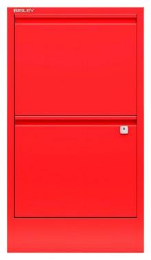 Hängeregistraturschrank, Home Filer 2 HR-Schubladen, kardinalrot