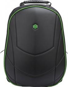 """Laptop Rucksack 17"""", Assailant Gaming schwarz/grün, USB, 3 Fächer"""