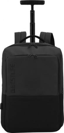 """Laptop Rucksack 15,6"""", Neoton TravelSafe, schwarz, diebstahlsicher,"""