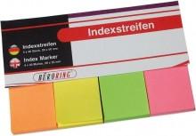 Büroring Haftstreifen 4 farbig sortiert