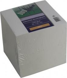 Büroring Notizklotz ca. 900 Blatt Recycling Papier, 85x85xmm, geleimt