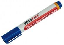 Büroring Permanentmarker, blau, Rundspitze 1,5-3mm