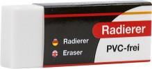 Büroring Radiergummi, weiß, 57 x 22 x 10mm