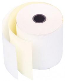 Büroring EC-Cash Rolle, selbst- durchschreibend, 2-fach, weiß/gelb