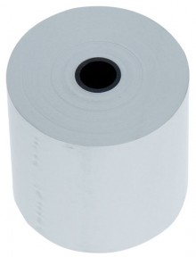Büroring Thermorolle für Kassen, 12er Kern, 58 mm x 50 m (Ø 65 mm)