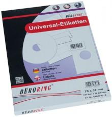 Büroring Etiketten, A4, 70 x 37mm, 2400 Etiketten