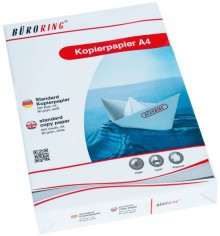 Büroring Kopierpapier A4 weiß holzfrei 80g/qm