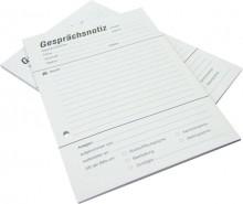 Büroring Gesprächsnotiz A5 60g/m 40 Blatt, Recyclingpapier, gelocht