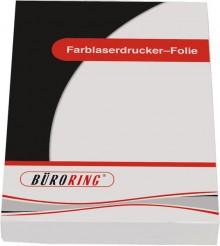 Büroring Folie A4 für Farblaser-Drucker
