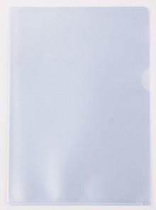 Aktenhüllen A4, genarbt, transparent, Sichtmappe 100my, PP-Folie