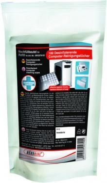 Büroring Refill- Beutel Desinfizierende Reinigungstücher
