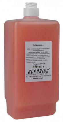 Seifencreme mild, für CWS-System, rosa,950ml,rückfettend,